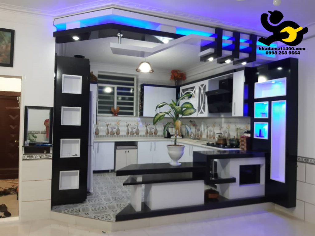نصب ارزان کابینت آشپزخانه در تهران www.khadamat1400.com